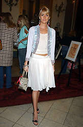 LADY EMILY COMPTON at a fashion show featuring the Miss Selfridge Autumn/Winter '05 collections held at The Wallace Collection, Manchester Square, London W1 on 6th April 2005.<br /><br />NON EXCLUSIVE - WORLD RIGHTS