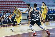 Eric Rush<br /> U.S. Basket Recanati - Kontatto Fortitudo Basket Bologna<br /> Lega Nazionale Pallacanestro 2016/2017<br /> Recanati 09/04/2017<br /> Foto Ciamillo-Castoria