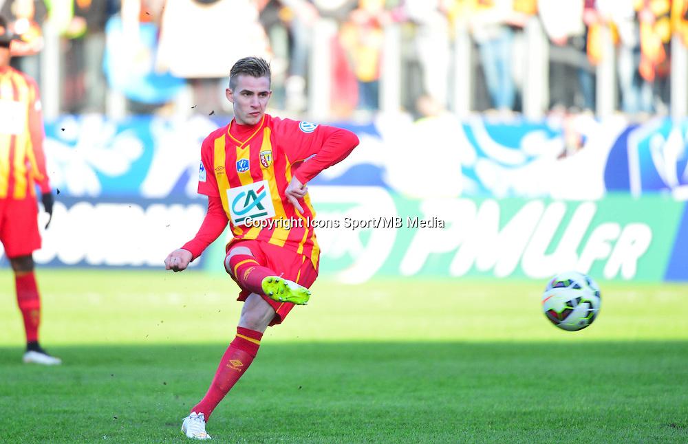 Benjamin BOURIGEAUD - 04.01.2014 - Lens / Lyon - Coupe de France<br />Photo : Dave Winter / Icon Sport