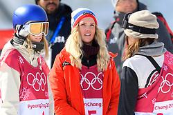February 19, 2018 - Pyeongchang, SOUTH KOREA - 180219 Silje Norendal of Norway after the Women's Big Air Qualification during day ten of the 2018 Winter Olympics on February 19, 2018 in Pyeongchang..Photo: Carl Sandin / BILDBYRÃ…N / kod CS / 57999_306 (Credit Image: © Carl Sandin/Bildbyran via ZUMA Press)