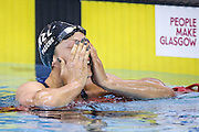 Picture by Alex Whitehead/SWpix.com - 18/07/2015 - Swimming - 2015 IPC Swimming World Championships - Tollcross Swimming Centre, Glasgow, Scotland - New Zealand's Sophie Pascoe celebrates winning Gold in the Women's 100m Freestyle S10 Final.