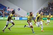 ARNHEM, Vitesse - SC Heerenveen, voetbal, playoff Europa League, seizoen 2014-2015, 31-05-2015, Stadion de Gelredome, Vitesse speler Guram Kashia (M) heeft de 1-1 gescoord.