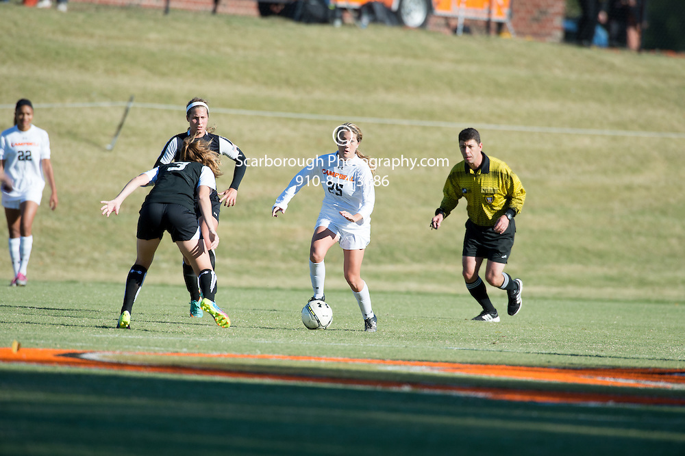 2014 Campbell University Women Soccer vs Gardner Webb. Big South Conference