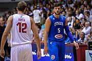 DESCRIZIONE : Trieste torneo internazionale Citta' di Trieste 2015 Italia Russia<br /> GIOCATORE : Alessandro Gentile<br /> CATEGORIA : espressioni <br /> SQUADRA : Italy Italia<br /> EVENTO : Torneo internazionale Citta' di Trieste 2015 <br /> GARA : ItaliaRussia<br /> DATA : 30/08/2015<br /> SPORT : Pallacanestro<br /> AUTORE : Agenzia Ciamillo-Castoria/M.Ozbot<br /> Galleria : FIP Nazionali 2015<br /> Fotonotizia : Trieste torneo internazionale Citta' di Trieste 2015 Italia Russia