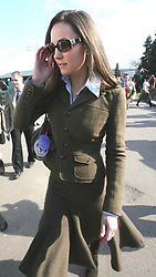 Kate Middleton at the Cheltenham Festival in 2007.    Photo by: Stephen Lock / i-Images