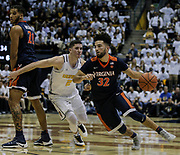 Dec 21 2016 - Berkeley, CA, USA:  Virginia guard London Perrantes (32) game stat 14 points and 3 assist during NCAA Men's Basketball game between Virginia Cavaliers and the California Golden Bears 56-52 win at Hass Pavilion Berkeley Calif. Thurman James / CSM