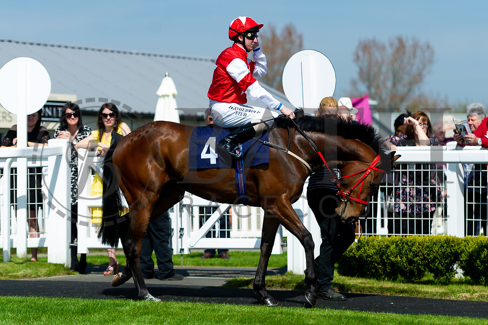 Bluebell Time ridden by Martin Dwyer - Ryan Hiscott/JMP - 19/04/2019 - PR - Bath Racecourse- Bath, England - Race 1 - Good Friday Race Meeting at Bath Racecourse