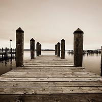 Sepia Wayzata dock image Lake Minnetonka, Minnesota black and white  photos