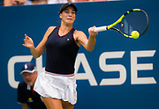 Bernarda Pera of the United States in action during the second round at the 2018 US Open Grand Slam tennis tournament, at Billie Jean King National Tennis Center in Flushing Meadow, New York, USA, August 30th 2018, Photo Rob Prange / SpainProSportsImages / DPPI / ProSportsImages / DPPI