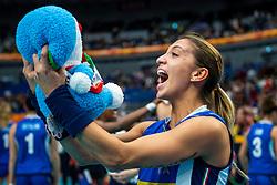 19-10-2018 JPN: Semi Final World Championship Volleyball Women day 18, Yokohama<br /> China - Italy / Beatrice Parrocchiale #20 of Italy