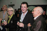 JEAN Hutchins, TIM STONER AND ROBIN CORNELL, private view  of new exhibition by Tim Stoner , Alison Jacques Gallery in new premises in Berners St., London, W1 ,Afterwards across the rd. at the Sanderson Hotel. 3 May 2007. DO NOT ARCHIVE-© Copyright Photograph by Dafydd Jones. 248 Clapham Rd. London SW9 0PZ. Tel 0207 820 0771. www.dafjones.com.