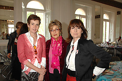 Left to right, LADY CHARLOTTE FRASER, JOSE FOLSECA and ROSIE BARTLETT at a lunch in aid of African Solutions To African Problems held at Il Bottaccio, 9 Grosvenor Place, London on 20th May 2008.<br /><br />NON EXCLUSIVE - WORLD RIGHTS