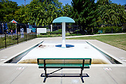 The Southside Pool is closed in Sacramento, Calif. on July 1, 2011. Budget cuts have closed many of Sacramento's public pools.