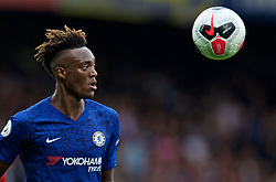 LONDON, ENGLAND - Sunday, September 22, 2019: Chelsea's Tammy Abraham during the FA Premier League match between Chelsea FC and Liverpool FC at Stamford Bridge. (Pic by David Rawcliffe/Propaganda)