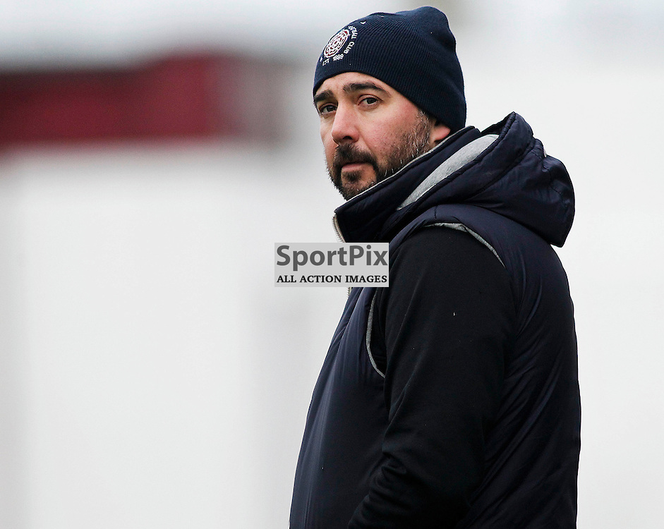 David McGlynn<br /> manager of  Linlithgow Rose who made history when they became the first junior club to reach the Scottish Cup 5th round when they beat Forfar Athletic 1-0 on 26th January 2016<br /> (c) Andrew West | SportPix.org.uk
