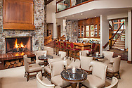 Riverbend Lodge Lobby and Bar, Saratoga, WY