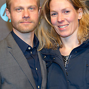 NLD/Amsterdam/20151215 - première van STAR WARS: The Force Awakens!, Micha Hulshof en partner