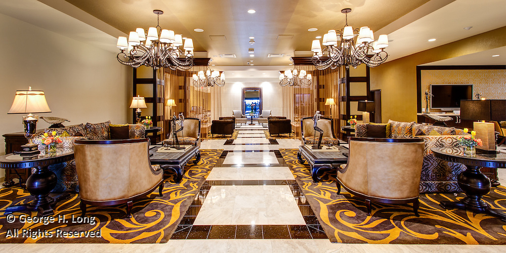 main lobby of the InterContinental Hotel New Orleans