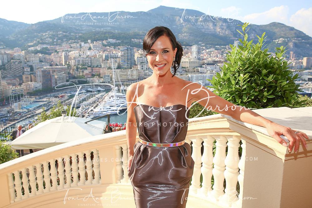MONTE-CARLO, MONACO - JUNE 09:  Julie Benz attends a Cocktail Reception at the Ministere d'etat on June 9, 2014 in Monte-Carlo, Monaco.  (Photo by Pool Barson/FilmMagic)