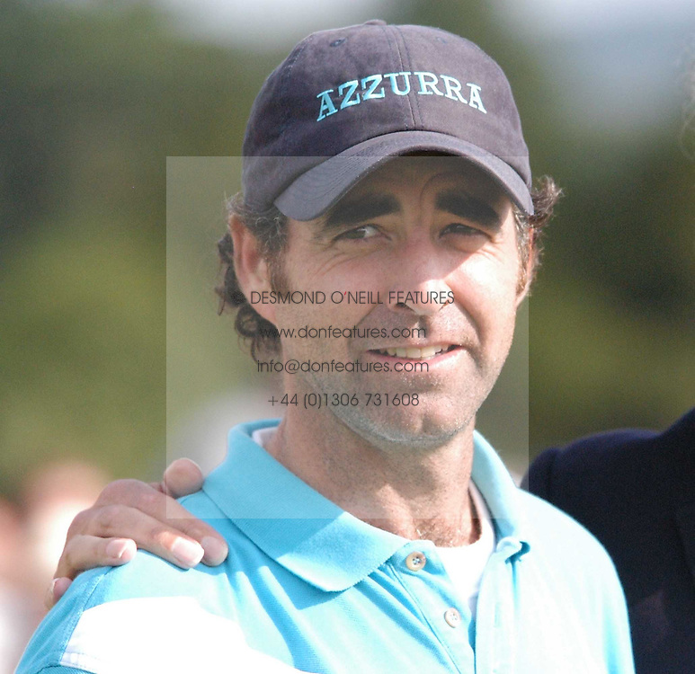 Polo player MARCUS HEGUY at the Veuve Clicquot sponsored Gold Cup or the British Open Polo Championship won by The  Azzurra polo team who beat The Dubai polo team 17-9 at Cowdray Park, West Sussex on 18th July 2004.