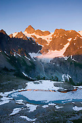 Mount Shuksan and Lake Ann North Cascades Washington USA