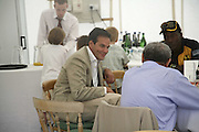 BRENT HOBERMAN AND SOL KERZNER, Guy Leymarie and Tara Getty host The De Beers Cricket Match. The Lashings Team versus the Old English team. Wormsley. ONE TIME USE ONLY - DO NOT ARCHIVE  © Copyright Photograph by Dafydd Jones 66 Stockwell Park Rd. London SW9 0DA Tel 020 7733 0108 www.dafjones.com