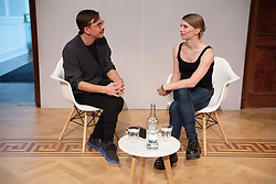 October 1, 2018 - London, London, UK - London, UK. Former United States army soldier and whistle blower Chelsea Elizabeth Manning in Conversation with James Bridle At the Royal Institution as part of an ICA event. Manning is a guest of honour at their annual dinner. (Credit Image: © Ray Tang/London News Pictures via ZUMA Wire)