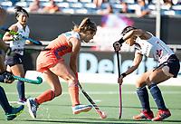 BREDA - Xan de Waard (Ned) tijdens de finale  Nederland-Japan (8-2) van de 4 Nations Trophy dames 2018 . COPYRIGHT KOEN SUYK