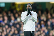 Romelu Lukaku of Everton rues after a missed chance during the Barclays Premier League match between Chelsea and Everton at Stamford Bridge, London, England on 16 January 2016. Photo by Salvio Calabrese.