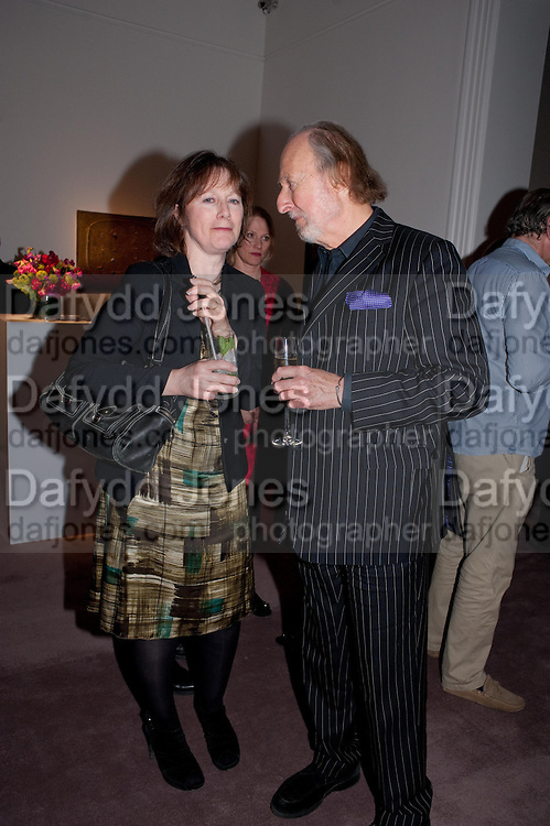 REBECCA FRASER; ED VICTOR, Can we Still Be Friends- by Alexandra Shulman.- Book launch. Sotheby's. London. 28 March 2012.