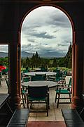 View from Highfield restaurant