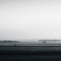Islands shrouded in mist