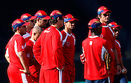 Team Highveld Lions during the Airtel CLT20 opening ceremony and 1st match held between the Mumbai Indians and The Highveld Lions at The Wanderers Stadium in Johannesburg on the 10 September 2010..Photo by: Trevor Kolk/SPORTZPICS/CLT20