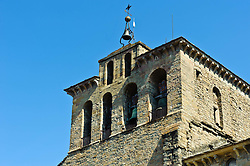 The 11th century Romanesque Cathedral in Jaca, Spain<br /> <br /> (c) Andrew Wilson | Edinburgh Elite media