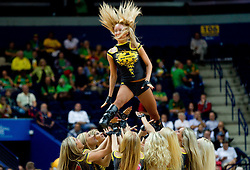 Cheerleaders Red Foxes during basketball game between National basketball teams of Serbia and Turkey at FIBA Europe Eurobasket Lithuania 2011, on September 11, 2011, in Siemens Arena,  Vilnius, Lithuania. Serbia defeated Turkey 68-67. (Photo by Vid Ponikvar / Sportida)
