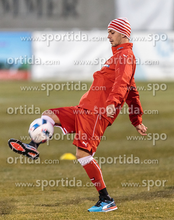 21.03.2016, Sportzentrum, Stegersbach, AUT, OeFB Training, im Bild Aleksandar Dragovic (AUT) // Aleksandar Dragovic (AUT) during a Trainingssession of Austrian National Footballteam at the Sportcenter in Stegersbach, Austria on 2016/03/26. EXPA Pictures © 2016, PhotoCredit: EXPA/ JFK