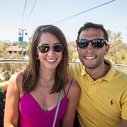 July 13-16, 2016, San Diego, CA:<br /> Alaina Stipcak and Billie Weiss on the Sky Tram at the San Diego Zoo during a trip to San Diego, California Wednesday, July 13 to Saturday, July 16, 2016. <br /> (Photos by Billie Weiss)