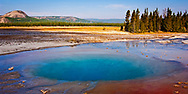 Opal Pool at Midway Geyser, Yellowstone National Park