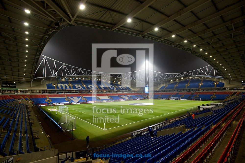 A general view of the stadium before the Sky Bet League 1 match at the Macron Stadium, Bolton<br /> Picture by Russell Hart/Focus Images Ltd 07791 688 420<br /> 12/12/2016