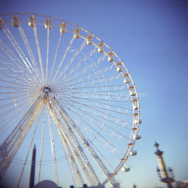 Big wheel in Paris France