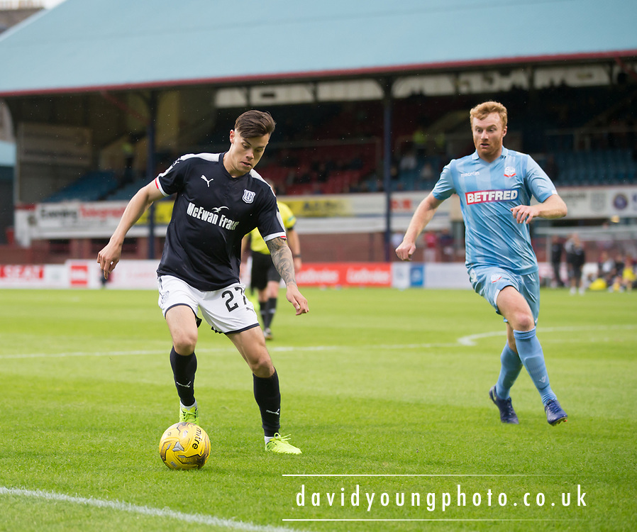 Dundee's Jesse Curran - Dundee v Bolton Wanderers pre-seson friendly at Dens Park, Dundee, Photo: David Young<br /> <br />  - © David Young - www.davidyoungphoto.co.uk - email: davidyoungphoto@gmail.com