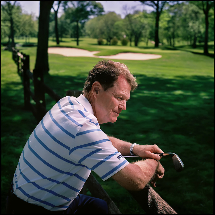 Kansas City golf legend Tom Watson has been honored with the Byron Nelson Prize, an honor he will receive in Dallas. The award -- presented annually since Nelson's death in 2006 by the Salesmanship Club of Dallas -- is given to a prominent golfer in recognition of his or her outstanding community service. Watson was photographed at Kansas City Country Club.