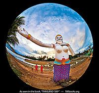 Statue of the Sea Ogress named Phii Seua Samut