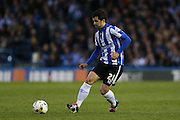 Sheffield Wednesday midfielder Alex Lopez (21) during the Sky Bet Championship Play Off First Leg match between Sheffield Wednesday and Brighton and Hove Albion at Hillsborough, Sheffield, England on 13 May 2016.