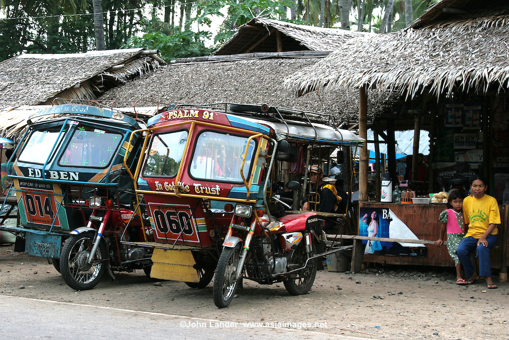 Auto rickshaws are an especially popular form of public transportation in the Philippines, where they are called tricycles.  Rather than dying out, it seems that the Filipino tricycle is on the increase.