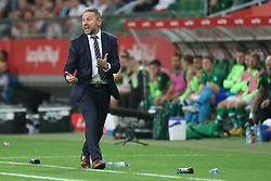 September 11, 2018 - Warsaw, Poland - Jerzy Brzeczek coach of Poland reacts during the international friendly match between Poland and Republic of Ireland at the Stadion Miejski on September 11, 2018 in Wroclaw, Poland. (Credit Image: © Foto Olimpik/NurPhoto/ZUMA Press)