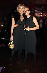 Left to right, AMANDA WAKELEY and CARYN FRANKLIN at a party to celebrate the 10th year of Fashion Targets Breast Cancer UK held at The Cuckoo Club, Swallow Street, London W1 on 30th October 2006.<br /><br />NON EXCLUSIVE - WORLD RIGHTS