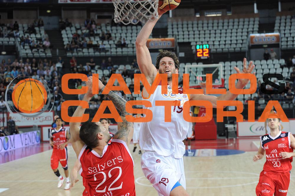 DESCRIZIONE : Roma Lega A 2010-11 Lottomatica Virtus Angelico Biella<br /> GIOCATORE : Vladimir Dasic<br /> SQUADRA : Lottomatica Virtus Roma Angelico Biella<br /> EVENTO : Campionato Lega A 2010-2011 <br /> GARA : Lottomatica Virtus Roma Angelico Biella<br /> DATA : 10/04/2011<br /> CATEGORIA : Schiacciata<br /> SPORT : Pallacanestro <br /> AUTORE : Agenzia Ciamillo-Castoria/GiulioCiamillo<br /> Galleria : Lega Basket A 2010-2011 <br /> Fotonotizia : Roma Lega A 2010-11 Lottomatica Virtus Roma Angelico Biella<br /> Predefinita :