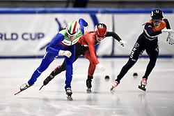 February 9, 2019 - Torino, Italia - Foto LaPresse/Nicolò Campo .9/02/2019 Torino (Italia) .Sport.ISU World Cup Short Track Torino - Ladies 500 meters Final A .Nella foto: Martina Valcepina..Photo LaPresse/Nicolò Campo .February 9, 2019 Turin (Italy) .Sport.ISU World Cup Short Track Turin - Ladies 500 meters Final A.In the picture: Martina Valcepina (Credit Image: © Nicolò Campo/Lapresse via ZUMA Press)