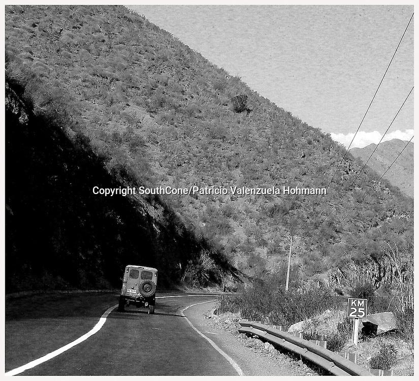 Scenes of Salamanca, Coquimbo region, Chile.